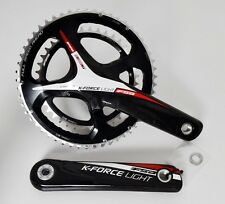 FSA K-FORCE LIGHT CARBON CRANK SET CRANKSET 175 53/39 11SPEED 386 EVO BB30 BB386