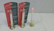 NEW Noma Flicker Light Candle Christmas Lights Battery Operated Candles Lot of 2