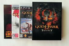 GOD OF WAR TRILOGY Box-Set incl. Artbook [ SCE ] PS3 Sony Playstation 3