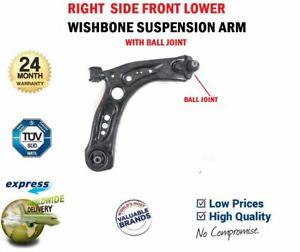 Front Right SUSPENSION WISHBONE ARM for VW GOLF SPORTSVAN 1.6 TDI 2014-on