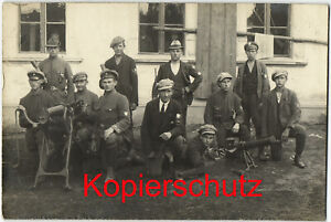 Freikorps SSOS Selbstschutz Oberschlesien MG Handgranaten Fotokarte