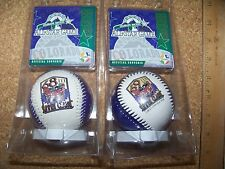 Rockies 1998 AS All-Star Game baseballs 68th and 69th error corrected balls ball