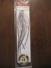 Fly Tying Whiting 100's Saddle Hackle Dark dyed Dun sz#18