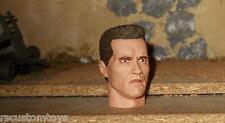 1/6 Scale Custom Terminator crew cut hair head - professionally painted