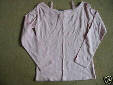 BNWT NEXT Pink Long Sleeved Mock Layer Top 8 Years 128cms