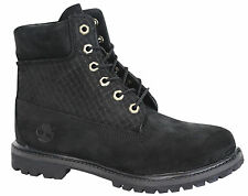 Timberland AF Icon 6 Inch Premium Womens Boots Lace Up Winter Black A14PC T2