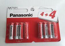 16 X Panasonic AA Doppio Un BATTERIE BATTERIA 1.5v r6 NUOVO £ 3.35 SPEDIZIONE GRATUITA