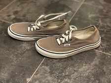 Brown VANS Authentic Shoes Size UK 4.5 EUR 37 US 7 - Great condition! ---- 2