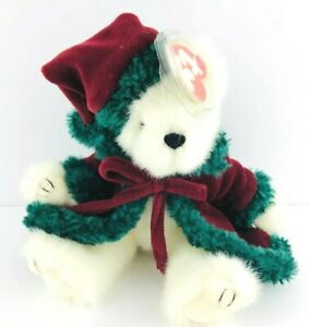 Ty Beanie Baby - KLAUSE The Holiday Bear - (Sleigh What) MWT 2000