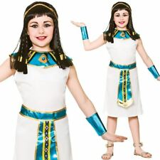 Kids Girls Queen Cleopatra Egyptian Ancient Book Week Fancy Dress Costume New