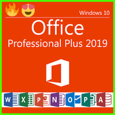 Microsoft Office 2019 Professional Plus License Key Lifetime