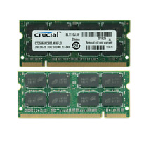 Crucial 2GB 4GB 8GB PC2-6400S DDR2-800MHz 200pin 1.8V Sodimm Laptop Notebook RAM