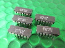 Cd4075bf, ceramica cd4075be, CMOS Triple 3-Input o GATE. UK Stock. ** 5 per ogni vendita *