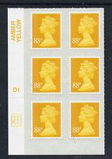 GB 2013 Machin De La Rue 88p MA13 Cyl Block of 6 NEW SALE PRICE