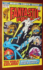 Fantastic Four #123 Silver Surfer Galactus gorgeous