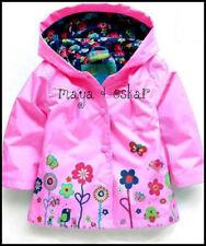Vêtements rose avec capuche pour fille de 2 à 16 ans toutes saisons