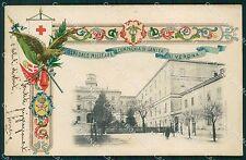 Verona Città Militari Ospedale Militare cartolina QT4539