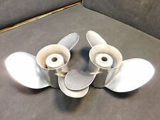 Johnson Evinrude 150 175 200 225hp Outboard Rapture Propeller Set 19 Pitch Props