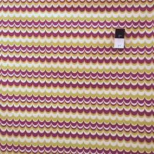 Joel Dewberry JD56 Heirloom Marbled Stripe Gold Cotton Fabric By The Yard