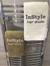 Personalised Towels, Therapy Bed Towels/Hand Towels, Nail Technician, Beautician