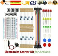 Electronics Starter Kit for Arduino UNO R3 Breadboard LED Jumper Wire Button GLS