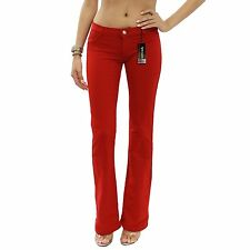 JW Red Boot Cut Regular Leg Stretch Brazilian Moleton Pants Size 2XL/XXL JWM201