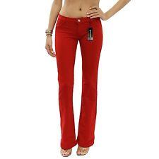 JW Red Boot Cut Regular Leg Stretch Brazilian Moleton Pants Size XXL JWM201