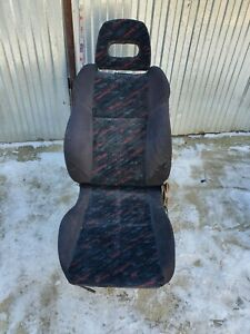 Rare Honda Civic EK4 VTI SiR Confetti front seats covers!