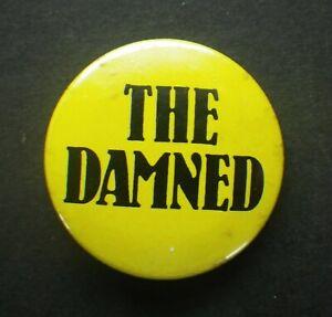 c.1979 Original The Damned Badge Punk K518