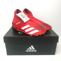 Adidas Predator 20.3 LL TF Junior Boys EF1949 Football Astro Turf Boots Size 10