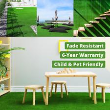 4m Wide 20mm Premium Artificial Grass Fake Lawn Astroturf Spring Summer Garden
