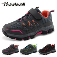 Kids Hiking Trail Trekking Shoes Boys Girls Slip Resistant Sneakers Hawkwell