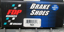 BRAND NEW FDP 761 PARKING BRAKE SHOES FITS VEHICLES LISTED ON CHART