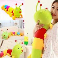 Cute Inchworm Soft Caterpillar Toy Colored Developmental Child Baby Doll 50CM _^