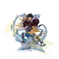 """Anime One Piece Monkey D · Luffy Gear Fourth 7"""" PVC Action Figure Model Toy"""