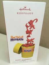 NEW Hallmark 2019 Barrel of Monkeys Hasbro game Keepsake Christmas Ornament