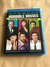 Horrible Bosses Blu-ray (USA / Region Free / 2 Cuts / 3 Discs / Inappropriate Ed
