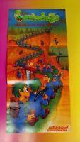 NEW Lemmings - Nintendo Power Original RARE Poster NES SNES Sega Wii Playstation