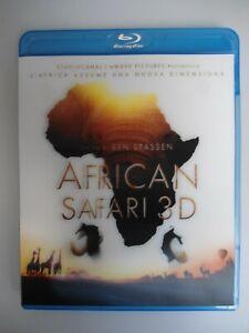 """BLU-RAY 3D """"African safari 3D"""""""