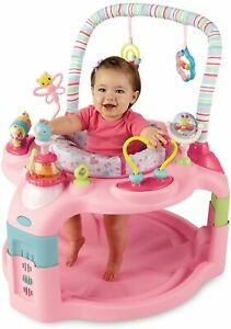 Bright Starts PINK Activity Centre 2 in 1 Activity Saucer Bouncer