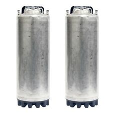 2 Pack 5 Gallon Ball Lock Kegs Reconditioned Homebrew Draft Beer O Ring Kit