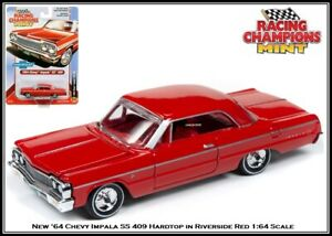 Racing Champions 1:64 Diecast Car '64 Chevy Impala SS 409 Hardtop By Auto World