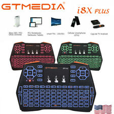 US Mini Wireless Keyboard 2.4G Keypads with Touchpad for PC Android TV Media Box