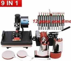 Heat Press Multifunctional Machine Sublimation Transfer 2D Printing 1350W Powers