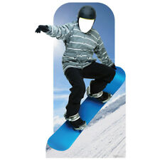 SNOWBOARDER Stand-In CARDBOARD CUTOUT Standup Standee Standin FREE SHIPPING