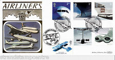 2002 Airliners (Stamps) - Benham Gold (500) Official - DOUBLED