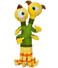 "New Disney Store Monters University Terri & Terry 16"" Detailed Plush Toy Doll"