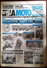 LVM - La Vie de la Moto n°200 du 1/3/1997; 200 cm3/ 200 Miles/ Histoires des 200