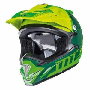 MT MX2 Spec (Kids) Youth Motocross MX OFff Road Bike Helmet - Fluo Green/Yellow