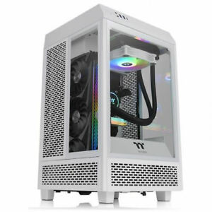 Thermaltake CA-1R3-00S6WN-00 The Tower 100 Snow Mini Chassis